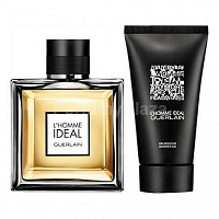 Guerlain L'Homme Ideal woda toaletowa spray 100 ml + żel pod prysznic 75 ml